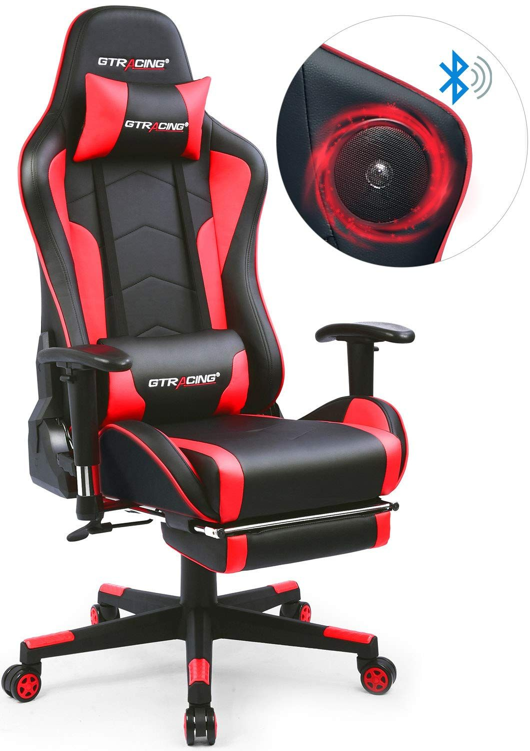MUSIC GAMING CHAIR Original designed with two Bluetooth