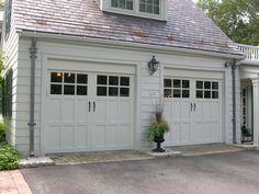 Georgian Style Garage Doors Google Search Garage Door Styles Colonial House Exteriors Garage Doors
