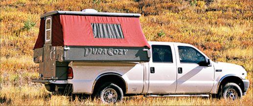 truck bed campers pop