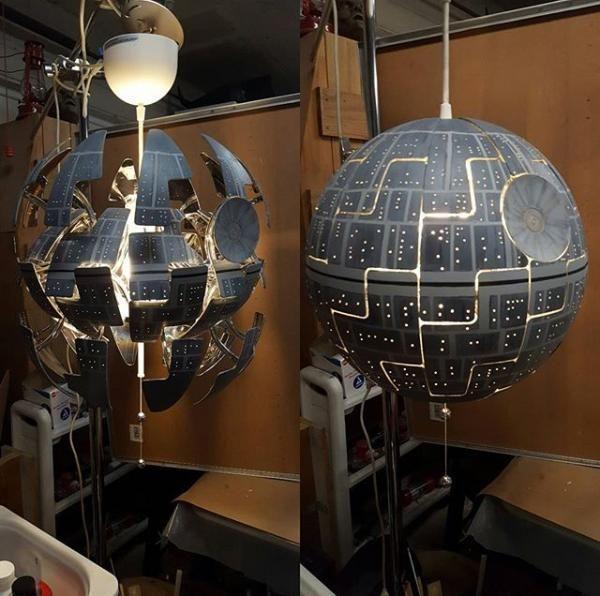 Star Wars Ceiling Light   Star wars