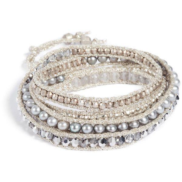 Chan Luu Ombre Wrap Bracelet 245 Liked On Polyvore Featuring Jewelry Bracelets
