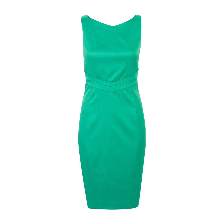 Steps jurk groen zwart