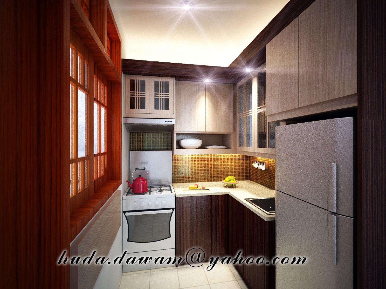Wet #kitchen Dapur Basah Small Kitchen  Kitchen Design Project Fascinating Wet Kitchen Design Inspiration Design