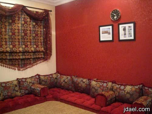 جلسات ارضيه مغربيه لمجالس البيوت الخليجيه وافخم الستائر بالطراز المغربي منتدى جدايل House Design Home Decor Design