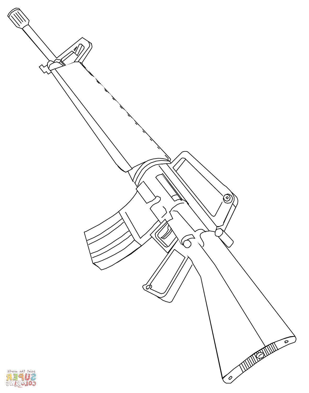 15 Original Coloriage Pistolet Photograph Pistolet Dessin Coloriage Fusil Dessin