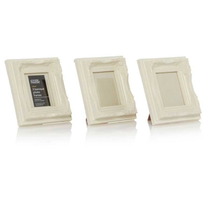 ASDA baroque photo frames for table numbers | Other wedding table ...