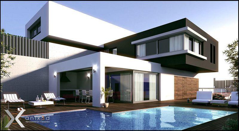 Construcciones casas modernas   Modern Architecture   Pinterest ...