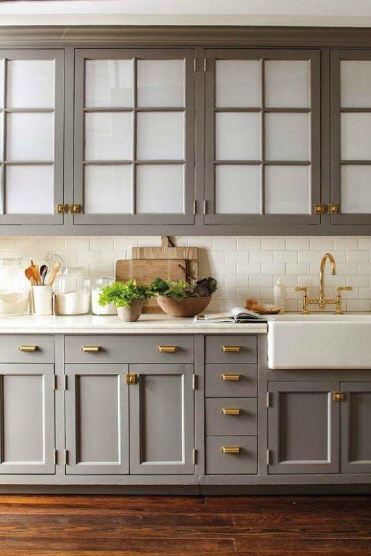Cocinas con muebles grises | Pinterest | Muebles grises, Colores ...