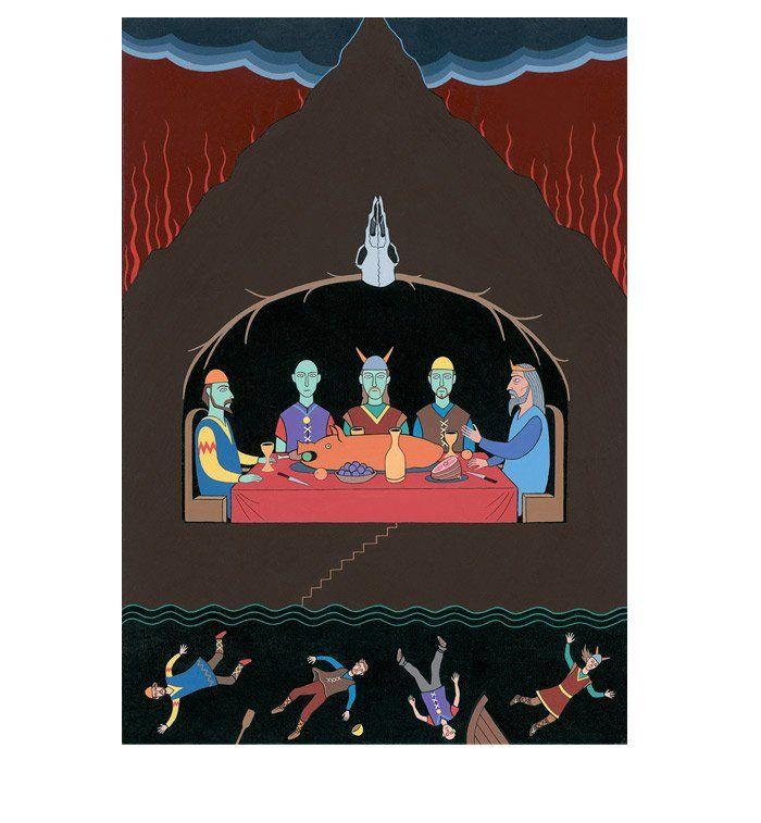 The Icelandic Sagas Magnus Magnusson (ed.) Illustrated by Simon Noyes