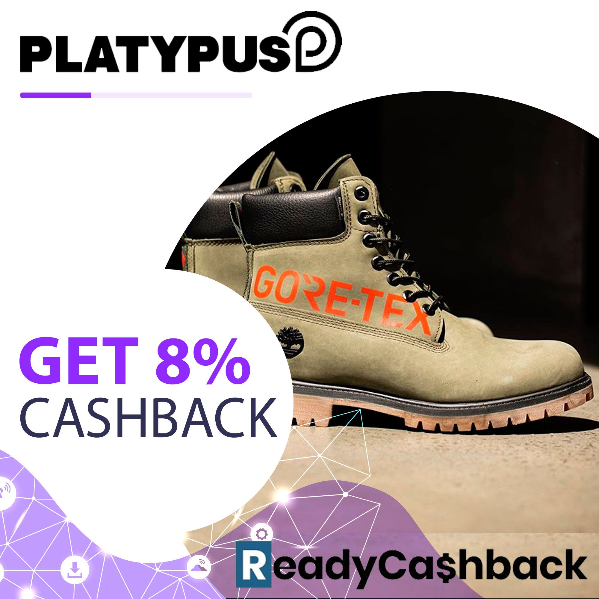 8.0% Cashback on Platypus Shoes in 2020