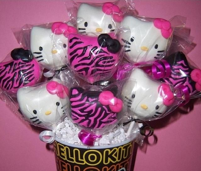 pink hello kitty cake pops my birthday wish lol dress out pink