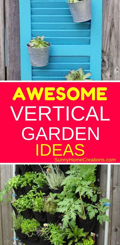 14 amazing ideas for a vertical garden diy herb garden on indoor herb garden diy wall mason jars id=85408
