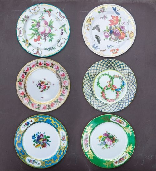 Decorative Tin Plates & Decorative Tin Plates | Pinterest | Porcelain and House