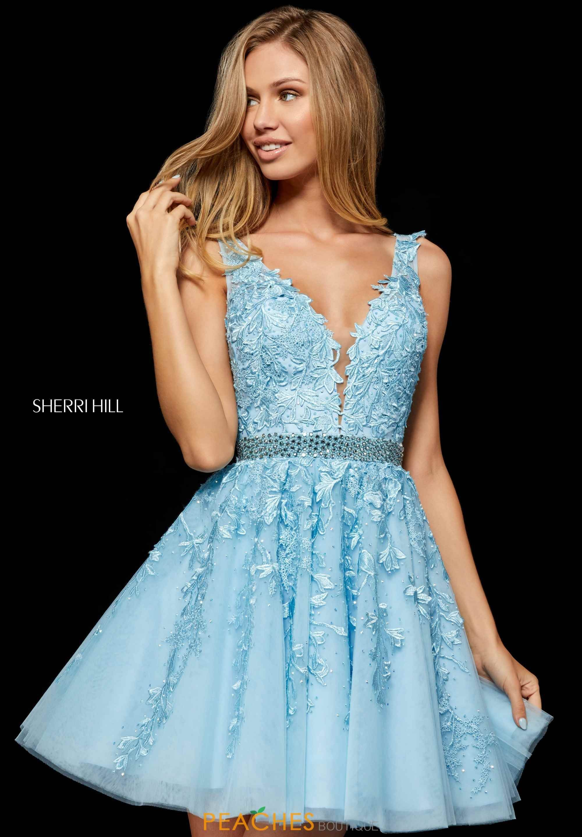 sherri hill short dress 52157 | peachesboutique, #dress