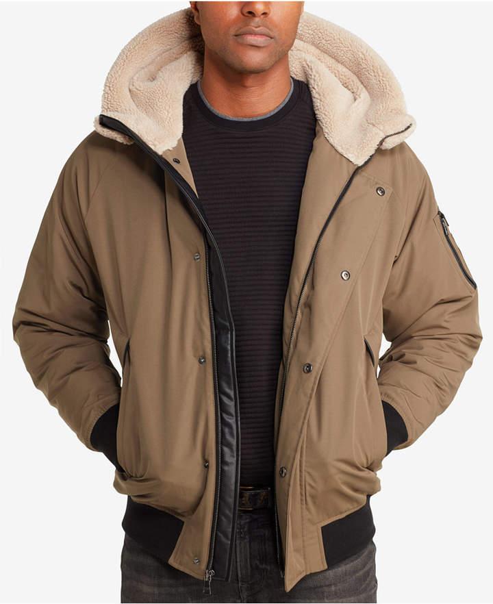 2f5d72630 Sean John Men Hooded Bomber Jacket in 2019 | Men Jacket | Bomber ...