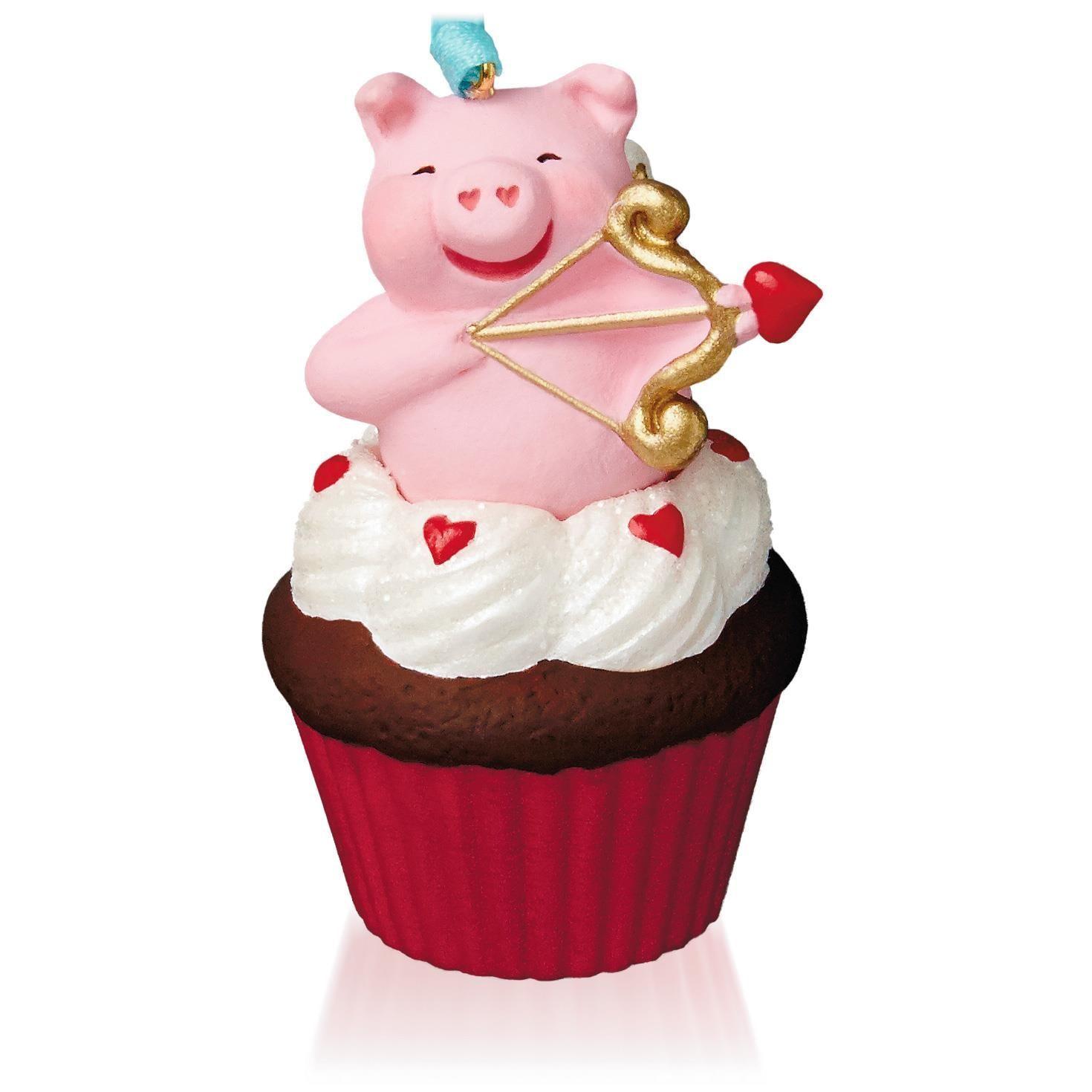 Ornament Review: Little Cupiggy - Keepsake Cupcakes #7 ...