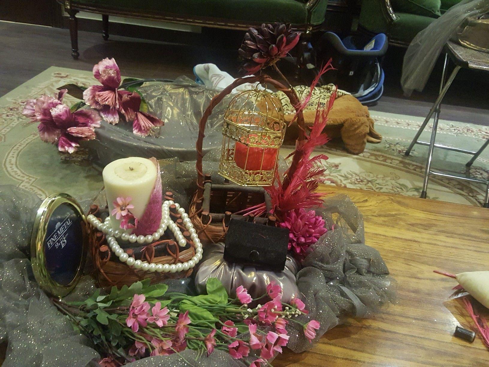 Wedding tray decoration ideas  Pin by Nida Fatima on engagement gift basket and platter  Pinterest