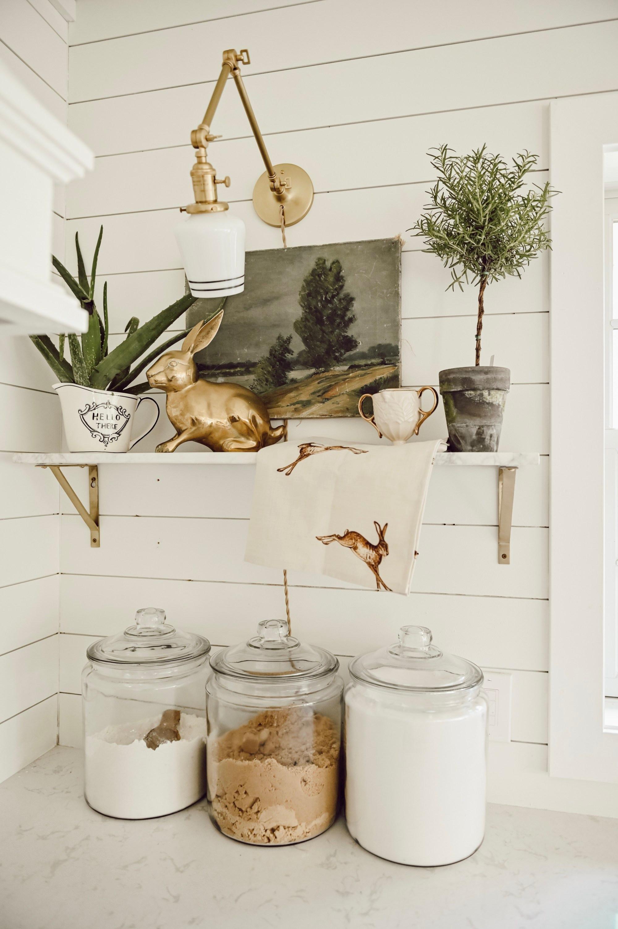 Shelf Styling Basics Balance Interior Design Basics Farmhouse
