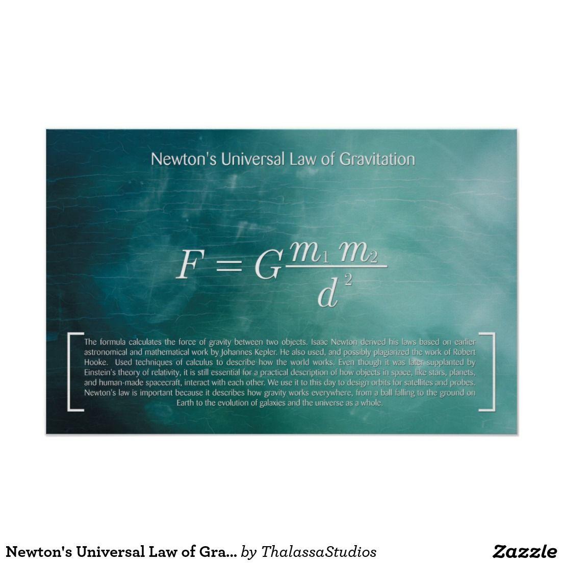 Newton S Universal Law Of Gravitation