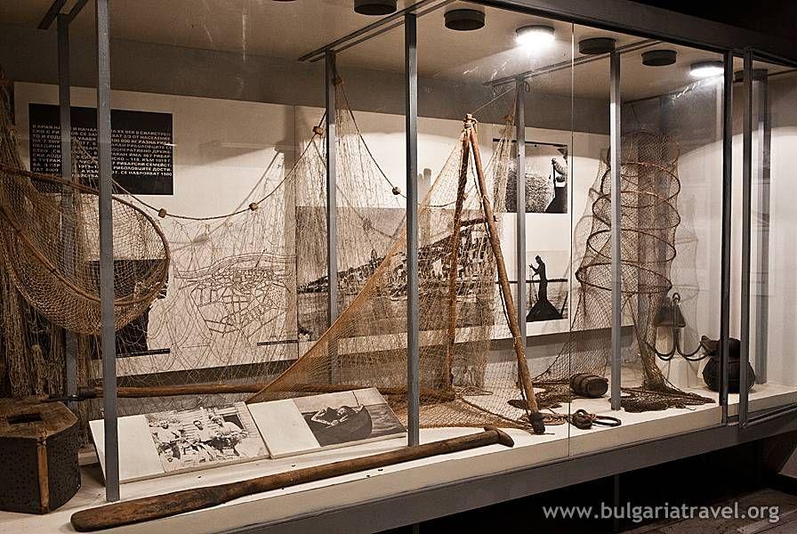 Muzej Dunavski ribolov i lodkostroene Tutrakan. Bulgaria