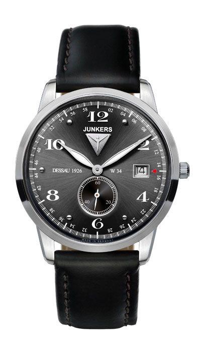 Junkers Armbanduhr  6334-2 versandkostenfrei, 100 Tage Rückgabe, Tiefpreisgarantie, nur 199,00 EUR bei Uhren4You.de bestellen