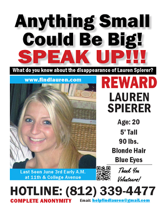Recent missing persons | ... STILL MISSING: Barcode Scan New ...