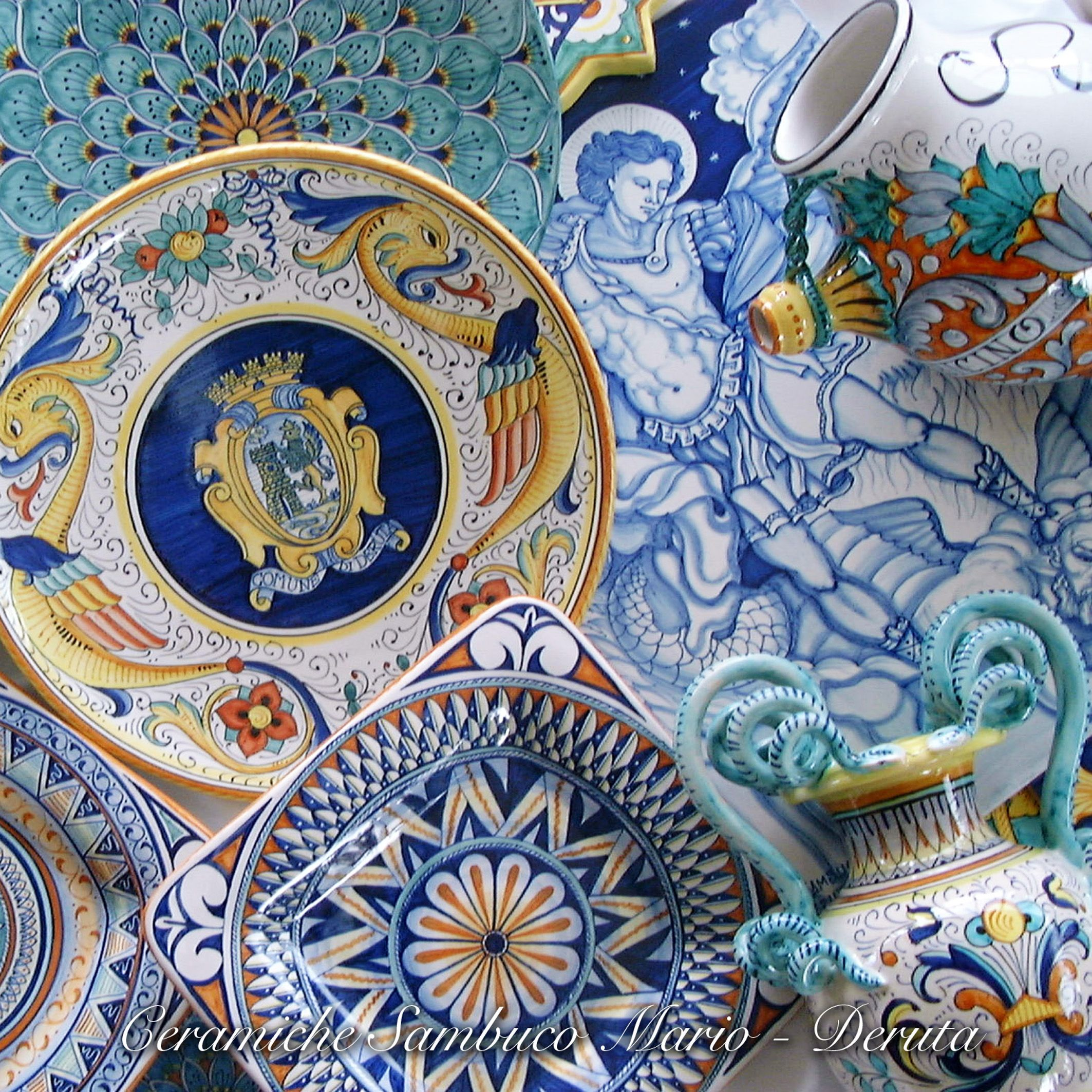 Fatto A Mano Hand Made Authentic And Original Italian Deruta Pottery