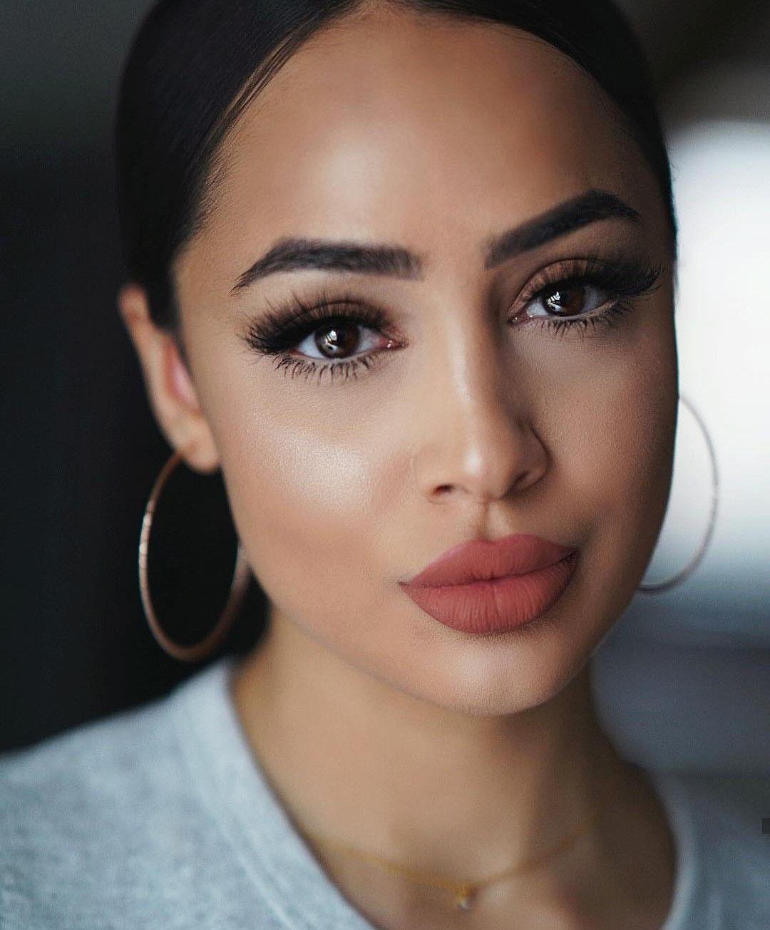 макияж для смуглой кожи фото облицевать фактурной штукатуркой