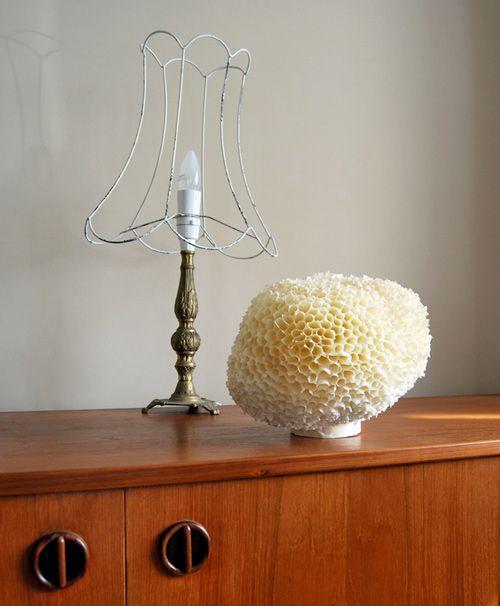 Como hacer una lampara casera y original Masking tape Diy sponges