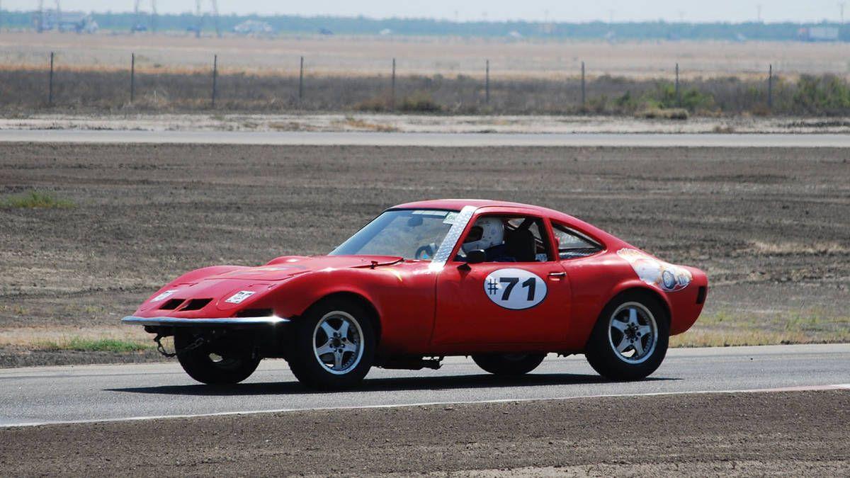 Opel gt race car