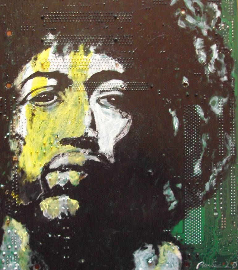 "Saatchi Art Artist andrea boriani; Painting, ""hndrx"" #art"