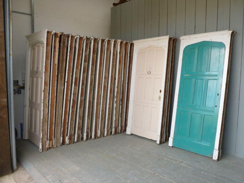 17 Antique Tudor Arch Doors and Framesreclaimed pine doorframepine & 17 Antique Tudor Arch Doors and Framesreclaimed pine doorframe ...