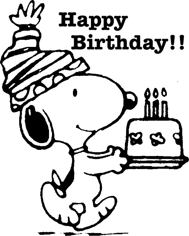 Pin By Jean Sellhorst On Good Recipies Birthday Coloring Pages Snoopy Birthday Happy Birthday Coloring Pages