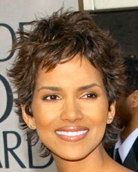 Halle Berry Short Hairstyles halle berry spiked pixie Pictures Of Halle Berry Haircuts Google Search