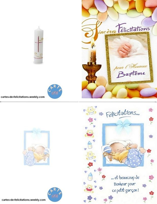 carte felicitation bapteme gratuite a imprimer Félicitations Baptême   CARTES DE FÉLICITATIONS A IMPRIMER