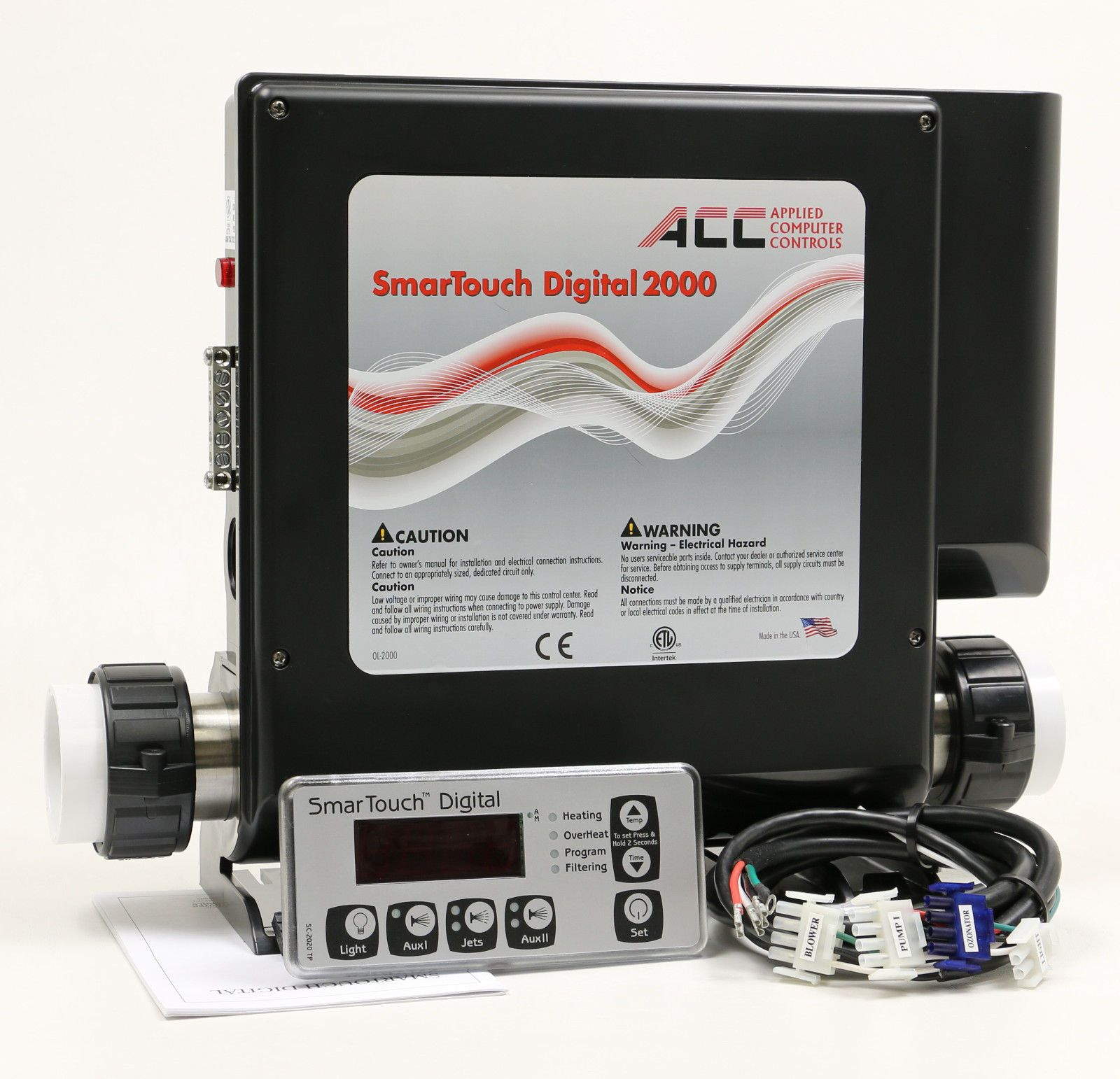 Hot Tub Heater Control Digital Spa Controller Pack Smtd 2000 Acc