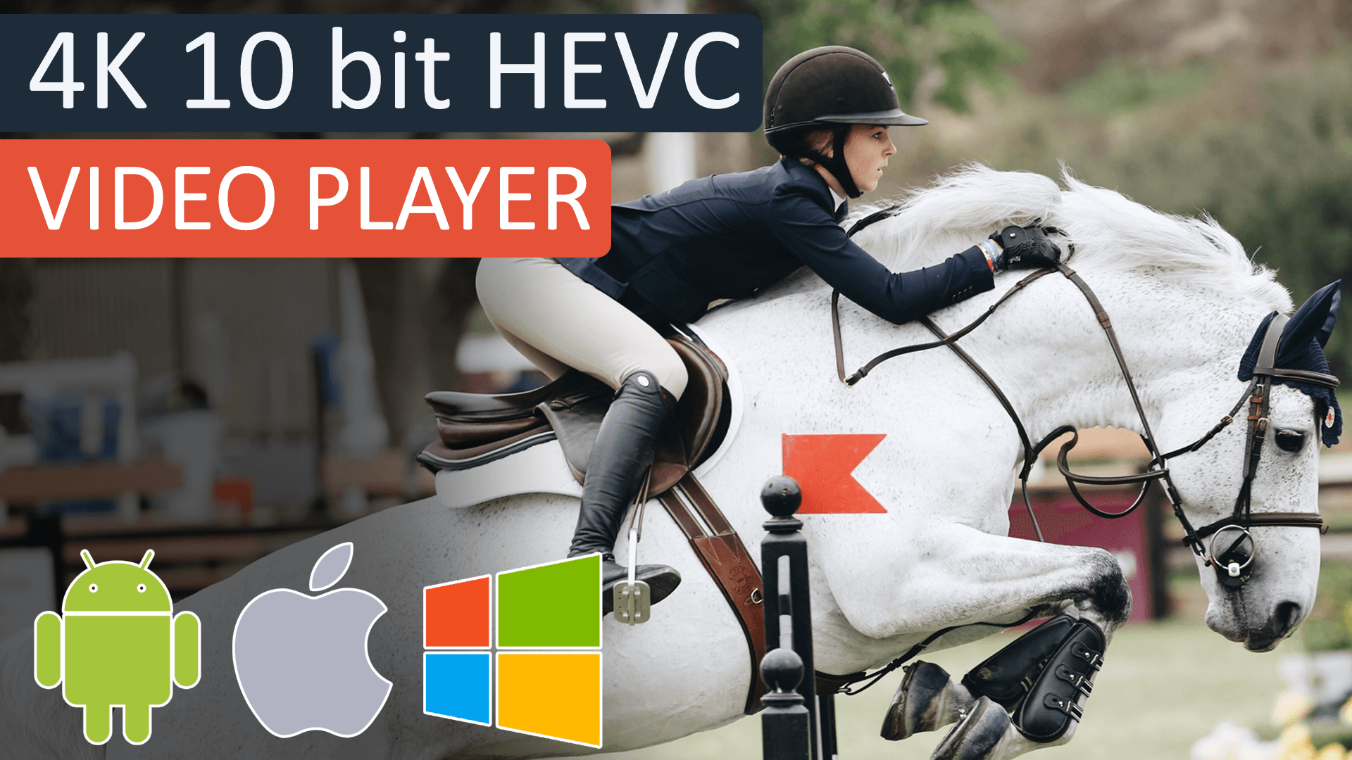 4K 10 bit HEVC Player on Windows 10, Android and iOS | CnX Media