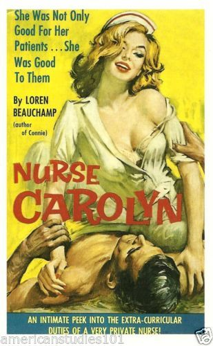 Image result for vintage nurse and patient pin up