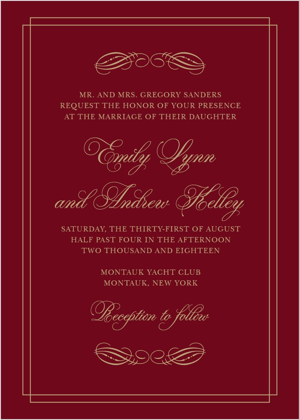 Emily Swash Wedding Invitations | Puccetti y\'all | Pinterest | Weddings