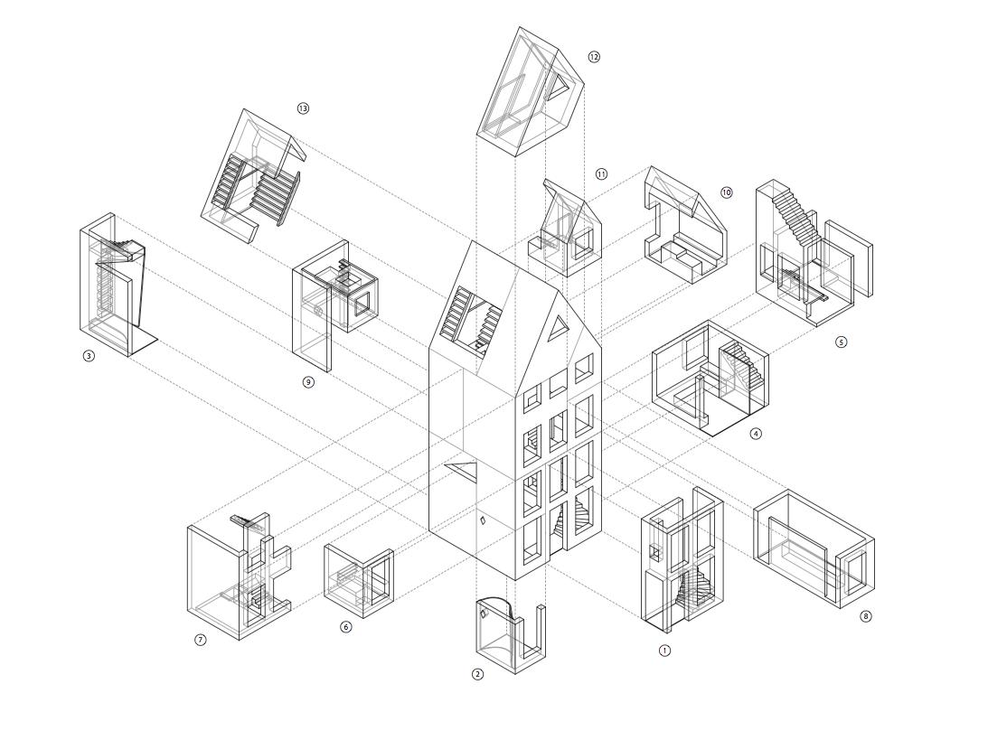 Arquitectura Dibujos Perspectivas Isometrico