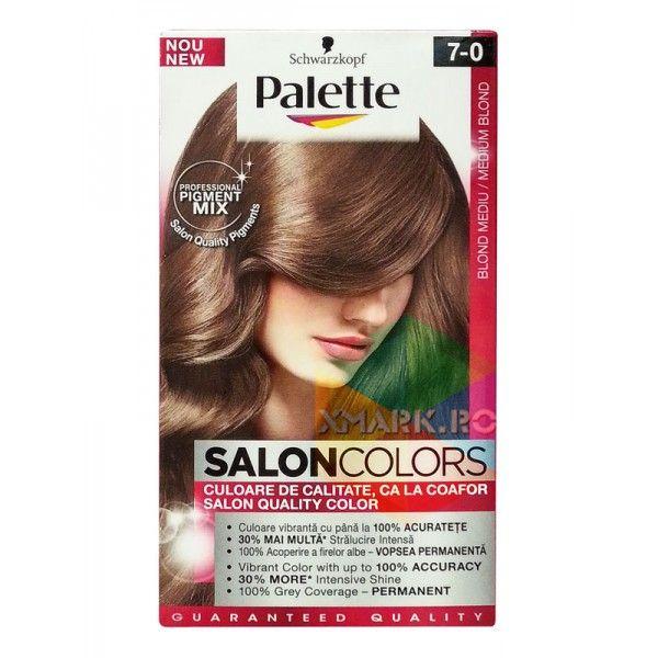 Palette Salon Colors Blond Mediu Nr 7 0 Vopsea Pentru Par Vopsea