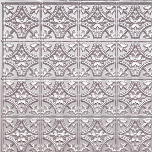 Decorative Plastic Ceiling Tiles Brilliant Cheap Wall Cover Plastic Ceiling Tile #150 Tin Silver 2X2 Ul Rated Design Ideas