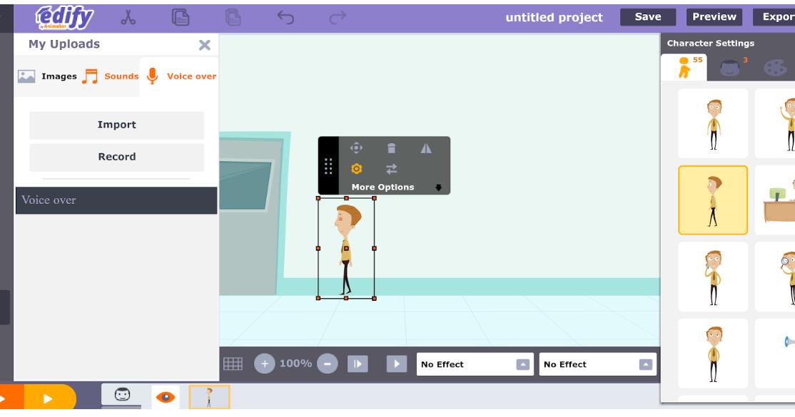 Animaker Edify Easily Create Animated Videos In An Online Classroom Create Animation Create Animated Gif Chromebook