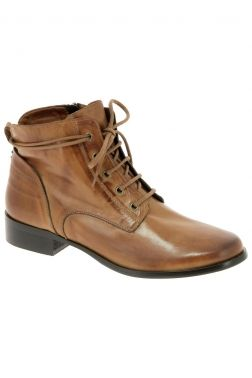 a400621ed69dcd Bottines de ville denouee marron | mode | Chaussure, Bottines et ...