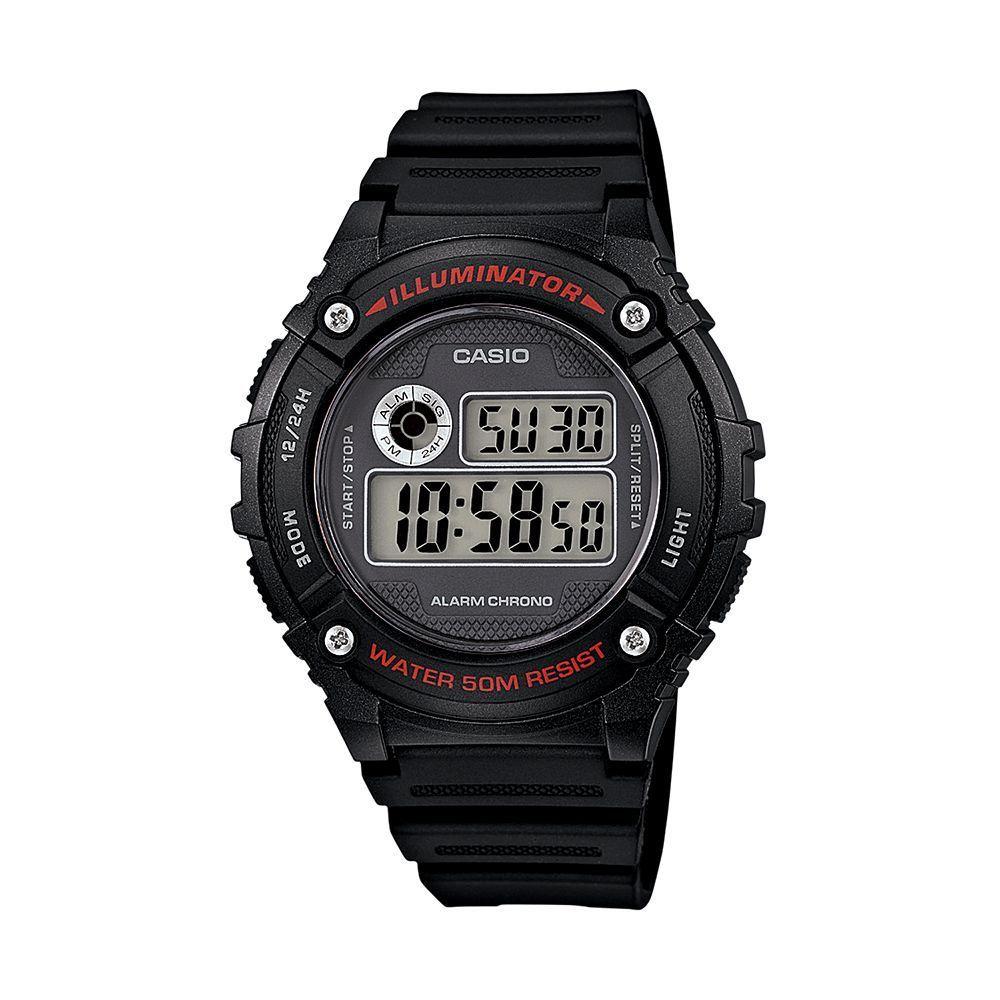 9cf6fc356bd Casio Men s Illuminator Digital Solar Watch