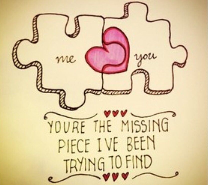 Love Puzzle Quotes: Cute Love Quotes For Him