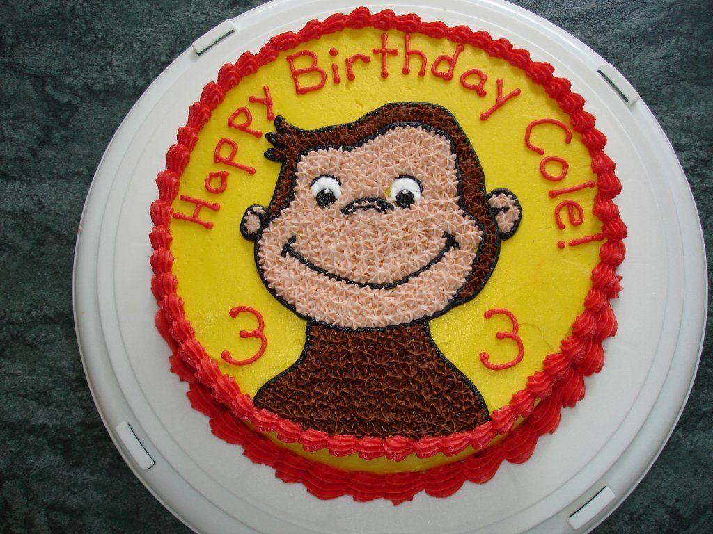 Curious George Cake Curious George Cakes Cake Decorating