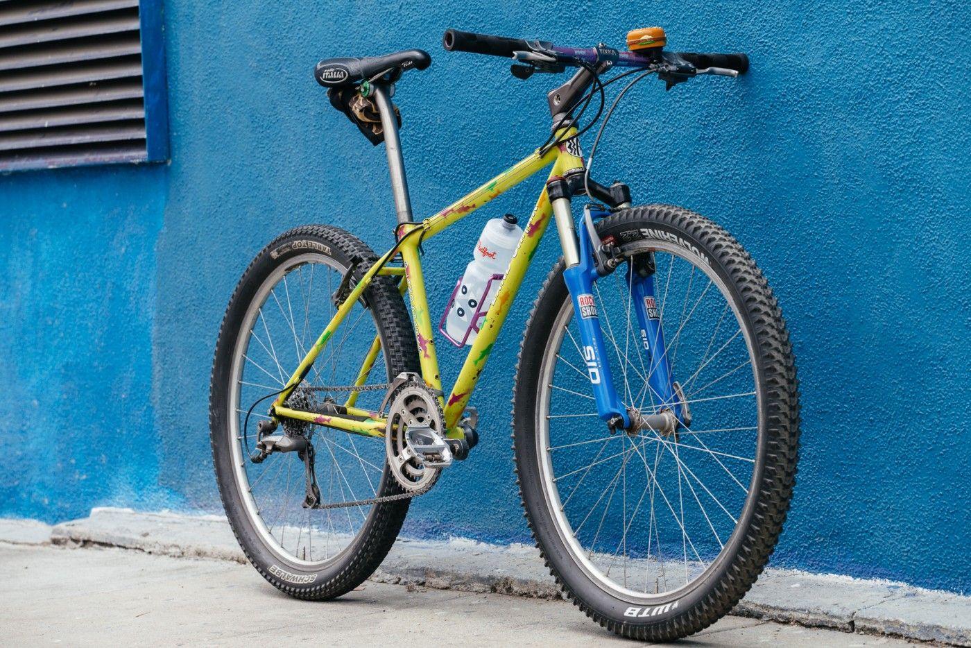 Vintage Mtb Vintage Mountain Bike Titanium Bike Vintage Bikes