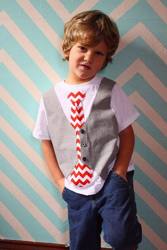 boys Christmas shirt, chevron tie shirt, Sibling Christmas outfit ...