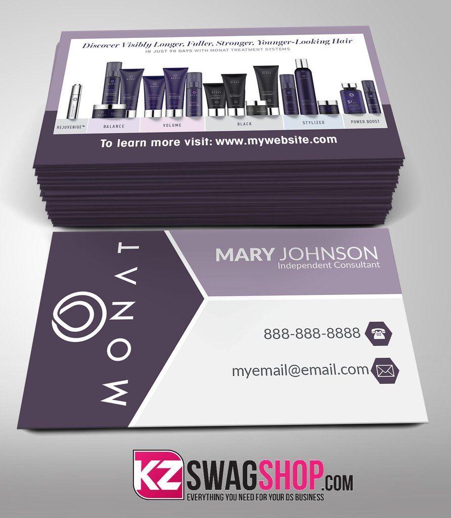 Monat Business Cards Style 3 | Monat Info | Pinterest